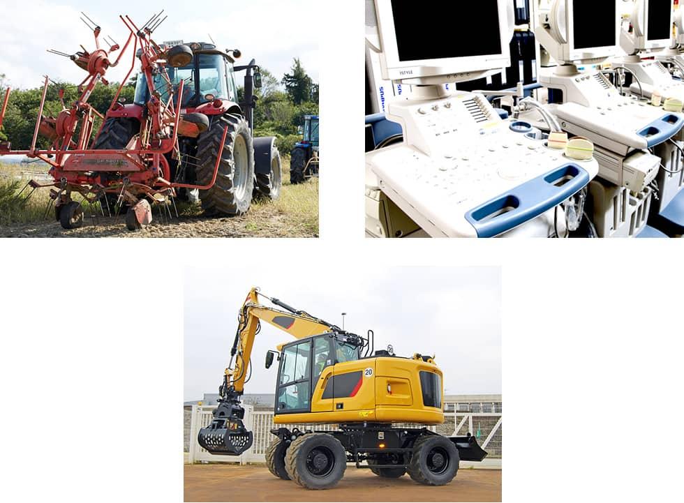 専門商材(農機具・建設機械・医療機器)
